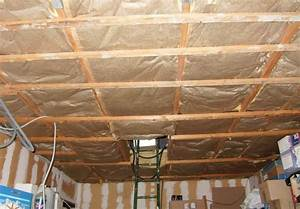 isolation plafond garage With isoler un toit de garage