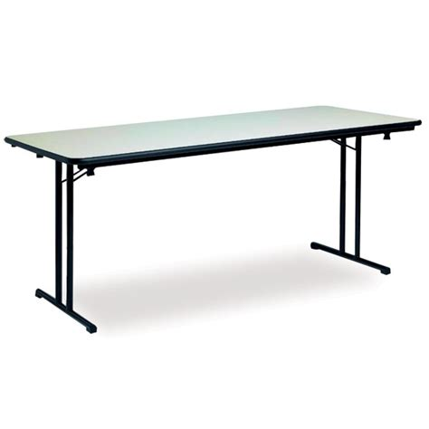 table de bureau pliante table pliante modulable en mélaminé tables polyvalentes