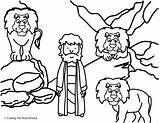 Den Lions Daniel Coloring Lion Pages Sunday Bible Crafts Preschool Lesson Drawing Activity Story Activities Clipart Lessons Word God Children sketch template