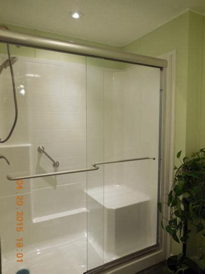 user submitted photo shower kits walk  shower kits