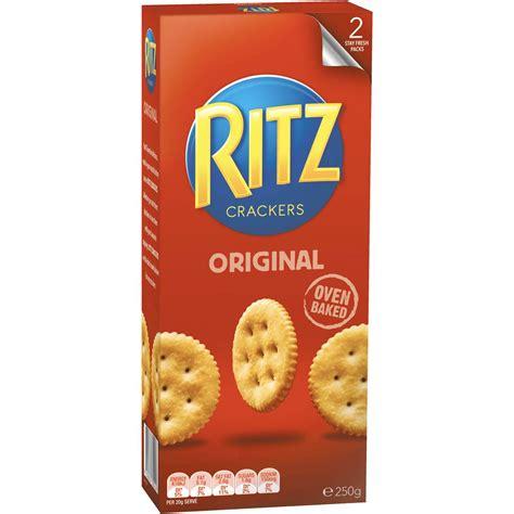 ritz cracker original 250g woolworths
