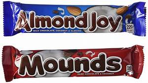 Galleon - Almond Joy And Mounds 24 Bar Variety Pack (2 ...