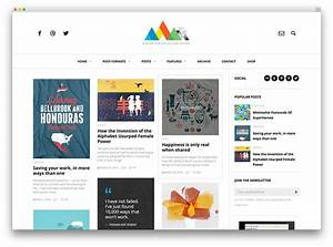 30 best personal blog wordpress themes 2017 colorlib With wordpress create blog page template