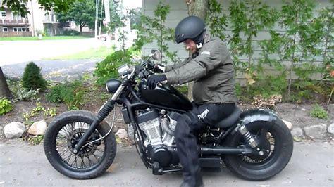 Suzuki Intruder Bobber Kit by Suzuki Bobber Vs 1400 Intruder After By Crusader Bikes