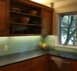 glass backsplash in kitchen green glass kitchen backsplash mill valley modern kitchen san francisco by marin