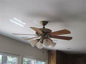 How to replace ceiling fan with light fixture
