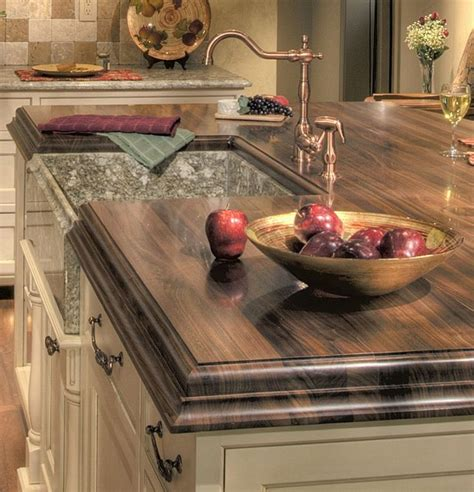 ideas  wood countertops  pinterest wood kitchen countertops refinish