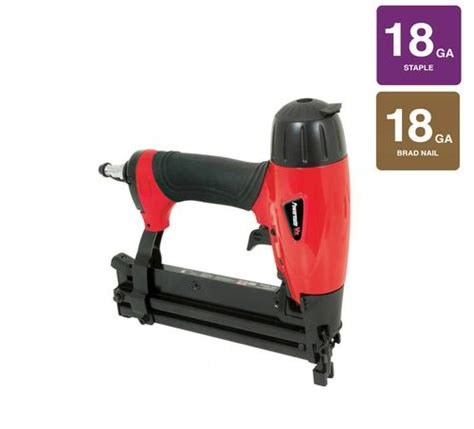 Hardwood Flooring Nailer Menards by Powermate 174 Vx 2 In 1 Brad Nailer And Stapler At Menards 174