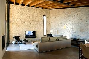 Kamin Im Wohnzimmer : dekor kamin wandgestaltung ~ Michelbontemps.com Haus und Dekorationen