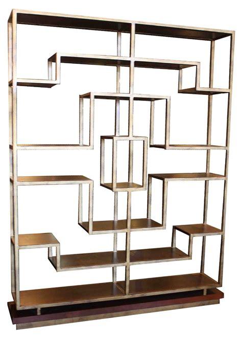 gold metal bookcase bookcases mortise tenon