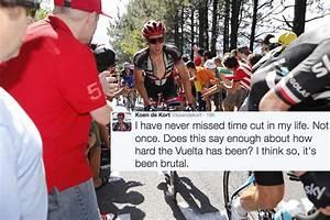 Riders react to Vuelta a España time cut incident ...