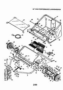 Craftsman Lawnsweeper Parts