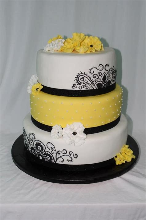 debut  beautiful yellow cake    birthday cake