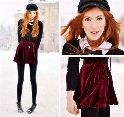 Ebba Zingmark - Skirt Monk Bow Tie 2hand Shoes - Wolf Girl   LOOKBOOK