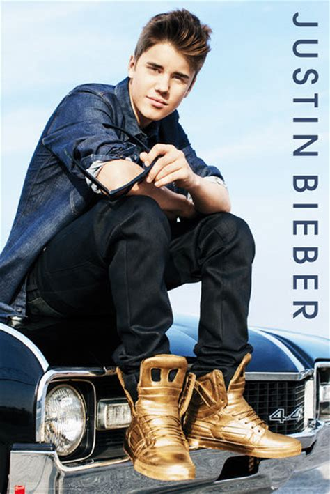 poster justin bieber justin bieber car poster sold at europosters