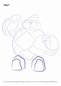 Learn How To Draw Golett From Pokemon  Pokemon  Step By