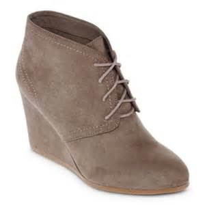 womens boots jcpenney jcpenney arizona womens wedge from jcpenney shoes