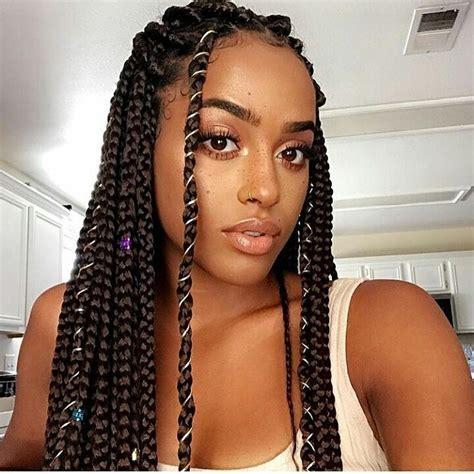 The 25  best Box braids ideas on Pinterest   Black braids