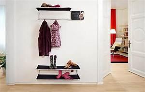 Ideen Für Garderobe : garderobe ideen f r flur und diele sch ner wohnen ~ Frokenaadalensverden.com Haus und Dekorationen