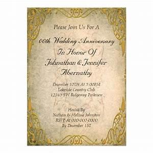 50th wedding anniversary invitation 13 cm x 18 cm With free online 50th wedding anniversary invitations