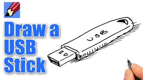 draw  usb stick real easy youtube