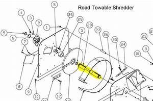 16706   Flywheel Shaft Cprl9