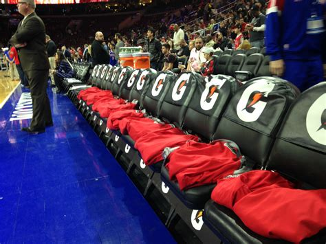 I Literally Sat On The Chicago Bulls Bench Last Night For