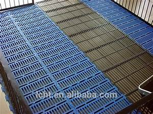400mm600mm plastic slat floors pig plastic floor covering With slated floor