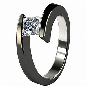 Black titanium wedding bands for women wedding and for Titanium womens wedding ring