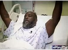 Police shoots unarmed black man lying down on his back