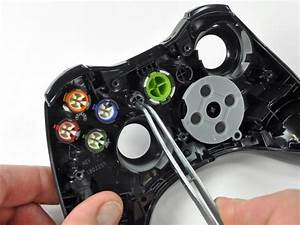 Xbox 360 Wireless Controller Buttons Replacement
