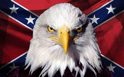 Rebel Southern Flag Pride Eagle Confederate American