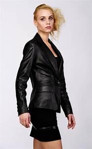 Blazer Femme Noir : blazer cuir agneau noir giovanni vente blousons cuir et ~ Preciouscoupons.com Idées de Décoration