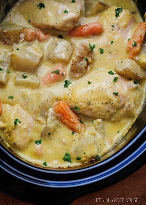 Crock Pot Creamy Ranch Chicken