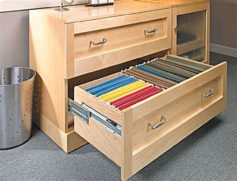 wood lateral file cabinet plans woodworking projects plans