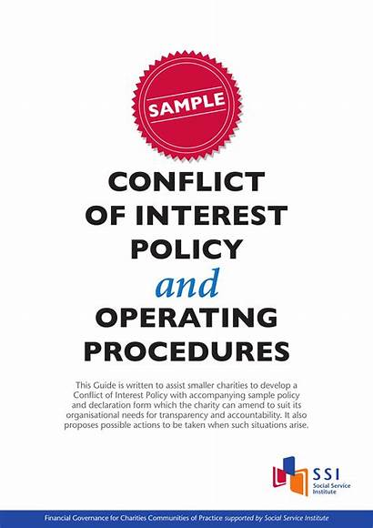 Conflict Interest Examples Policy Example Simple Business