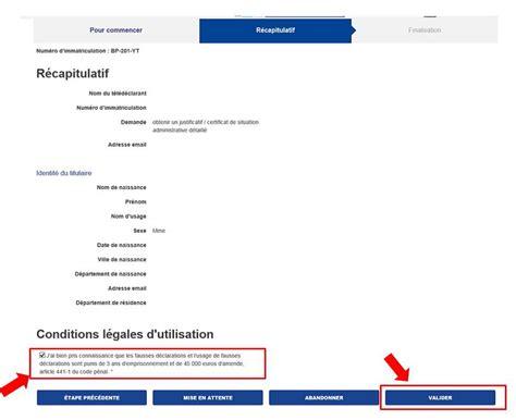 ants certificat de non gage comment obtenir un certificat de non gage certificat de situation administrative direct