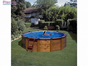Piscine Bois Ronde : piscine hors sol bois gr island ~ Farleysfitness.com Idées de Décoration