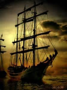 Majestic Sailing Ship