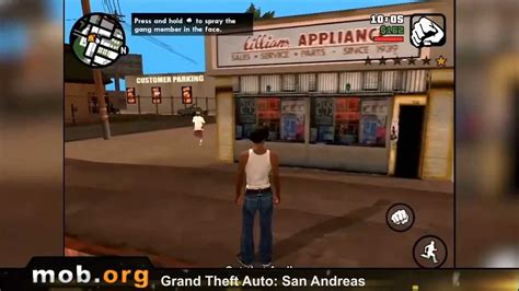 android mob gta san andreas android review mob org