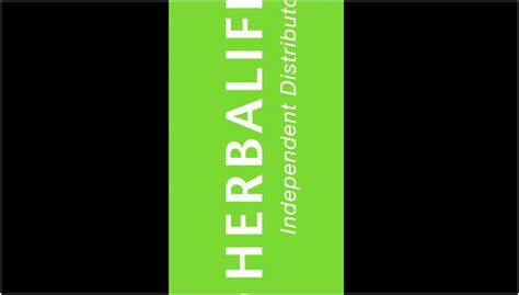 herbalife business card template  cards design