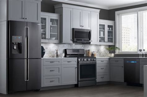 White Cupboards With Stainless Steel Appliances by Are Black Stainless Steel Appliances The Next Kitchen