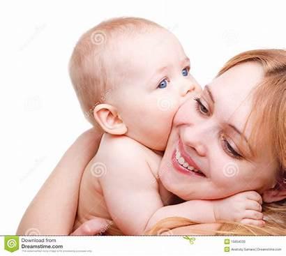 Mother Kissing Bambino Bacia Madre Che