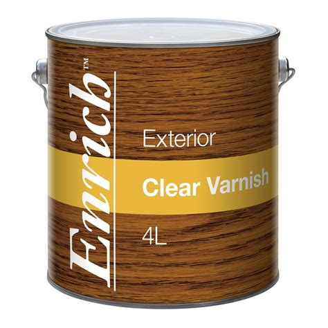 enrich  clear exterior varnish bunnings warehouse