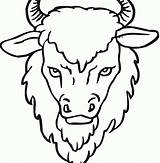 Buffalo Coloring Water Cape Pages Printable Bison Getcolorings Sheet Getdrawings sketch template