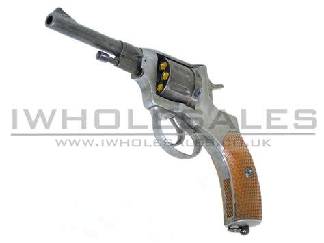 wingun nagant m1895 co2 revolver black aged metal