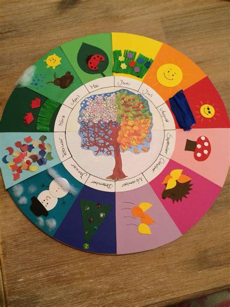 geburtstagskalender im kindergarten basteln jahreszeitenkalender zuk 252 nftige projekte kindergarten basteln und geburtstagskalender