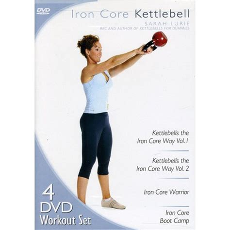 kettlebell iron dvd core walmart