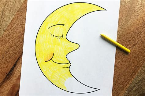 moon  printable templates coloring pages firstpalettecom