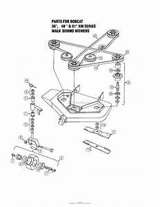 Oregon Bobcat Parts Diagram For Bobcat 36 U0026quot   48 U0026quot   U0026 61 U0026quot  Xm